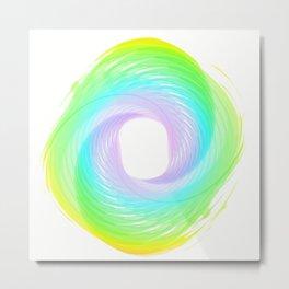 """"""" Rainbow cloud """" Metal Print"""