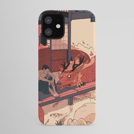 Tell a Dragon Colorful Stories iPhone Case