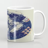 infinity Mugs featuring INFINITY by Steven Kline