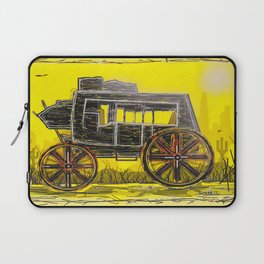 Old West Stagecoach Laptop Sleeve