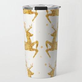 Golden Deers Travel Mug