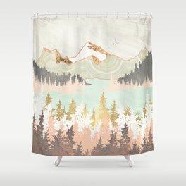 Winter Bay Shower Curtain