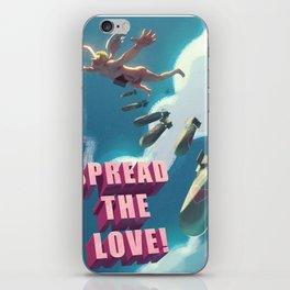 Spread the Love iPhone Skin