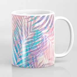 Palm Leaves - Iridescent Pastel Coffee Mug