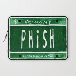 Phish license plate Laptop Sleeve