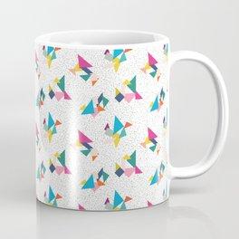 Deconstructed Tangrams Coffee Mug