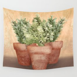 Rosemary and Thyme Wall Tapestry