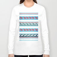 sweater Long Sleeve T-shirts featuring Sweater Unicorn by That's So Unicorny