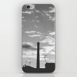 Black And White Chimney iPhone Skin