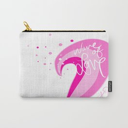 wave of love Carry-All Pouch