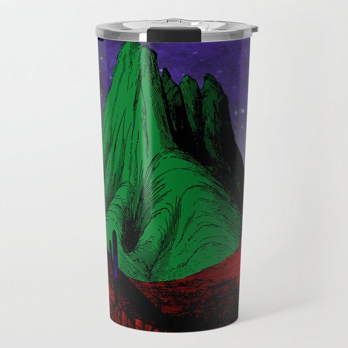 Painting in the Dark Travel Mug