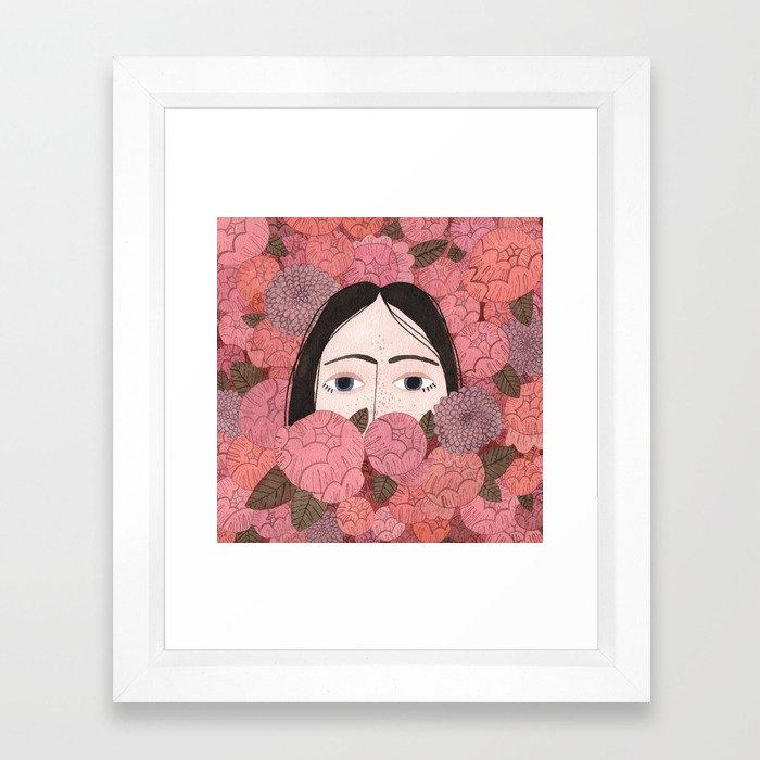Irene Framed Art Print