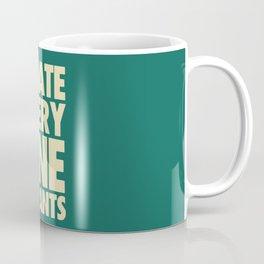 Squidward Quotes Coffee Mug