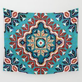 Native American Navajo pattern II Wall Tapestry