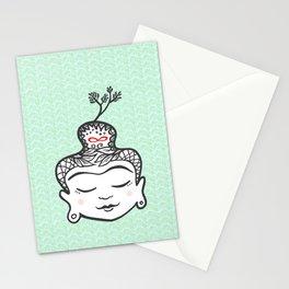 Buddha infinity Stationery Cards