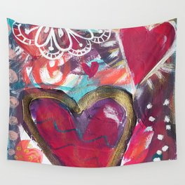 My Loving Heart Wall Tapestry