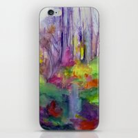 vermont iPhone & iPod Skins featuring VERMONT by Shayna Carolyn