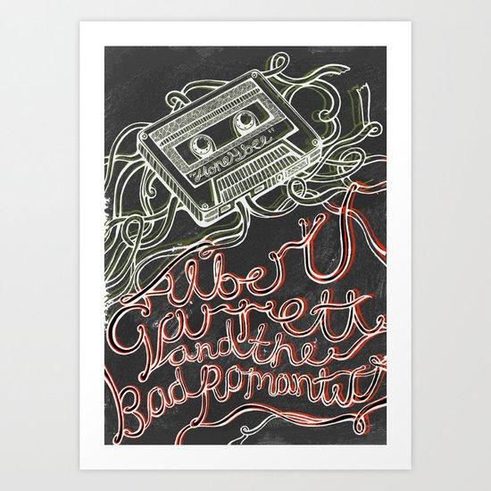 Albert Garrett. Art Print