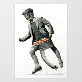 Schoolboy/Devil Art Print