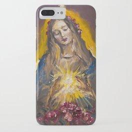 The Mystic Rose iPhone Case