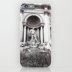 I wished for happiness - trevi fountain Slim Case iPhone 6s