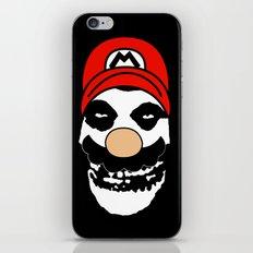 Misfit Mario iPhone & iPod Skin