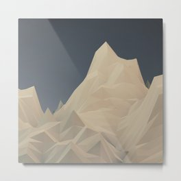 Polymountain Metal Print