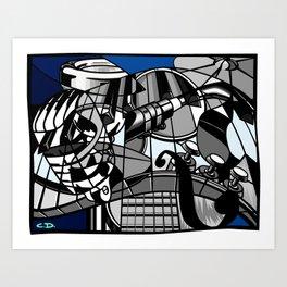 Jam Session (Euphony) Art Print
