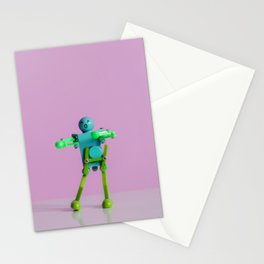 Happy Robot Stationery Cards