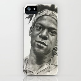 Jean-Michel Basquait iPhone Case