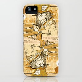 'Mad Hatter' (Alice in Steampunk Series) iPhone Case