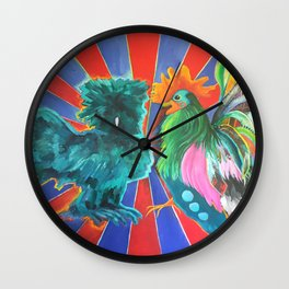 Silkie & The Banty Wall Clock