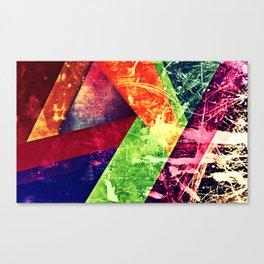 Through colour Canvas Print