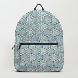 Geometric Pearl Design Backpack