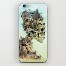 Nature Skull iPhone Skin