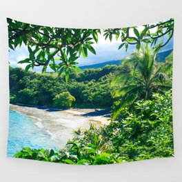 Hamoa Beach Hana Maui Hawaii Wall Tapestry
