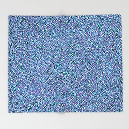 Kaleidoscope of Colors Throw Blanket