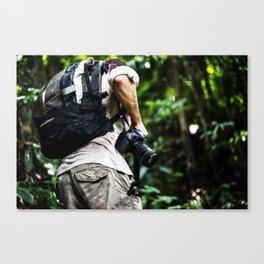 Adventure into the Rainforest Canvas Print