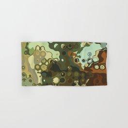 RETRO Mid Century Modern Abstract Pattern Geometric Art by Michel Keck Hand & Bath Towel