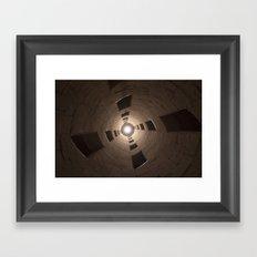 Chambord Castle - Stairs Framed Art Print