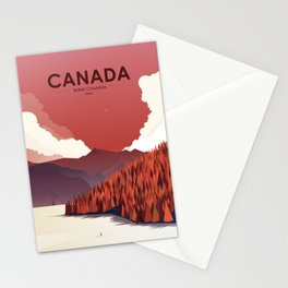 Alone In Nature - RedSky Stationery Cards