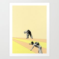 Mountaineers Art Print