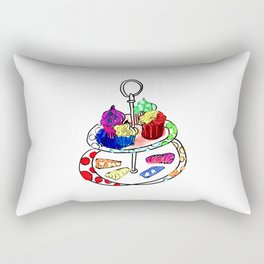 Oh, sweet! Cupcakes Rectangular Pillow