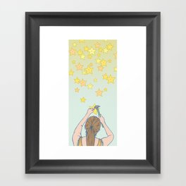 Until the Stars Fall from the Sky Framed Art Print