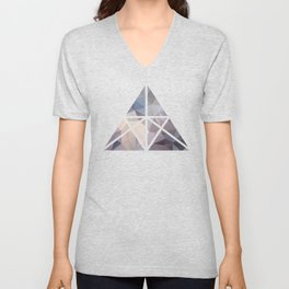 Polygon pattern 9 Unisex V-Neck