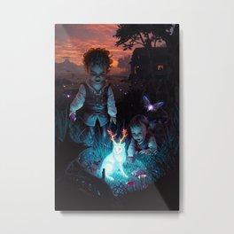 Backyard Adventure Metal Print