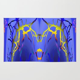 Alien Lightning Rug