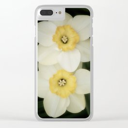 Early Spring Bloom XVII Clear iPhone Case