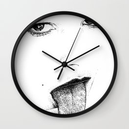 asc 761 - La trace (The pharmakon) Wall Clock