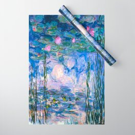 Water Lilies Monet Wrapping Paper